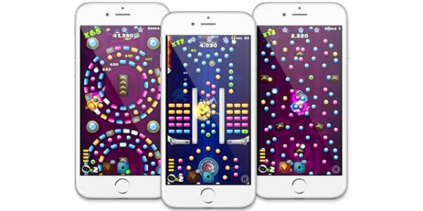 Pachinko on mobile devices